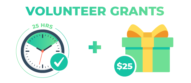 Volunteer grants are a common form of corporate philanthropy.