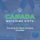 Learn more about Canada matching gifts!