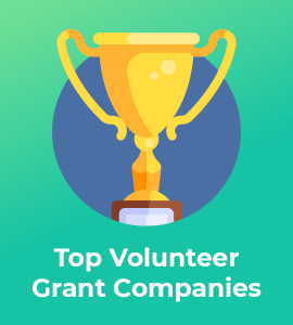 Here are some of the top volunteer grant and corporate philanthropy companies.