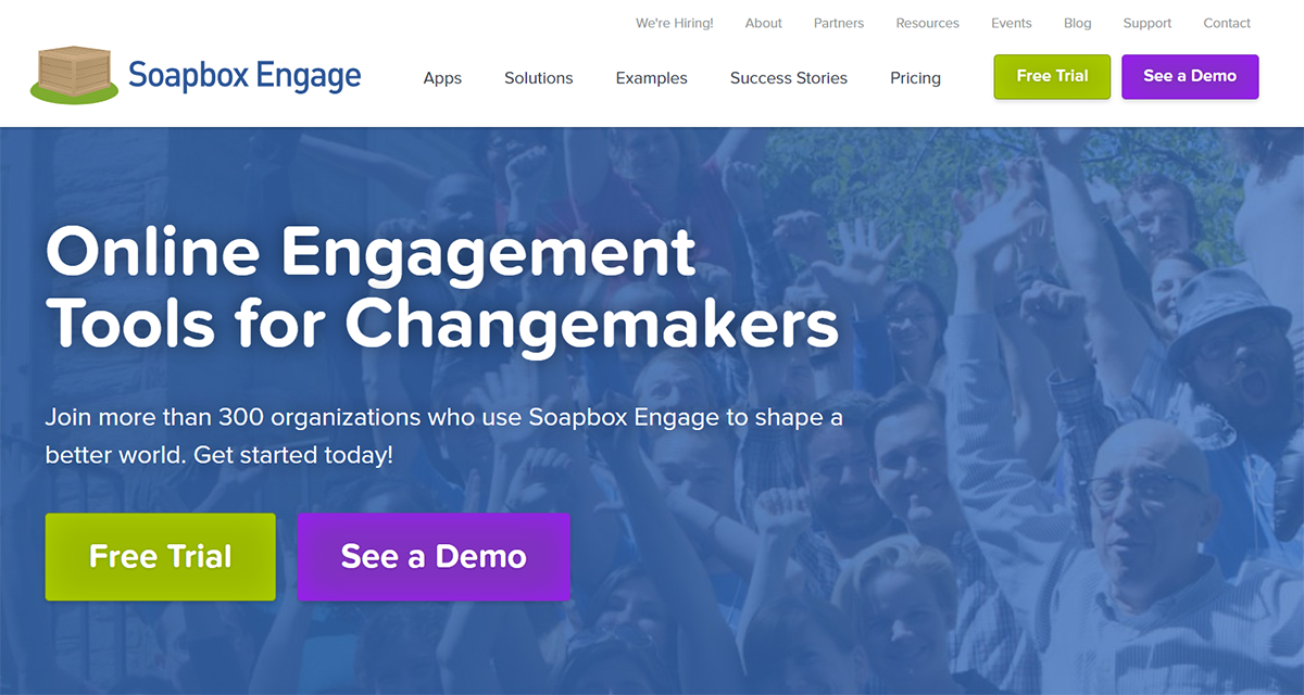 Learn more about Soapbox Engage, one of the top Salesforce apps for nonprofits.