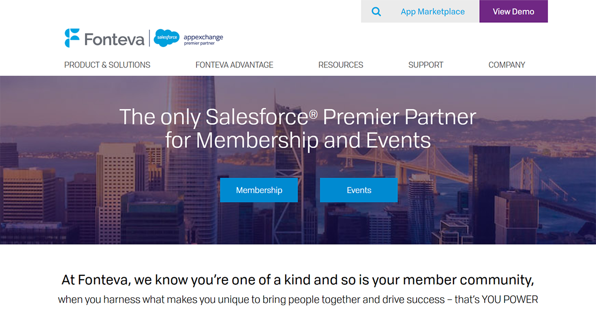 Learn more about Fonteva, one of the top Salesforce apps for nonprofits.