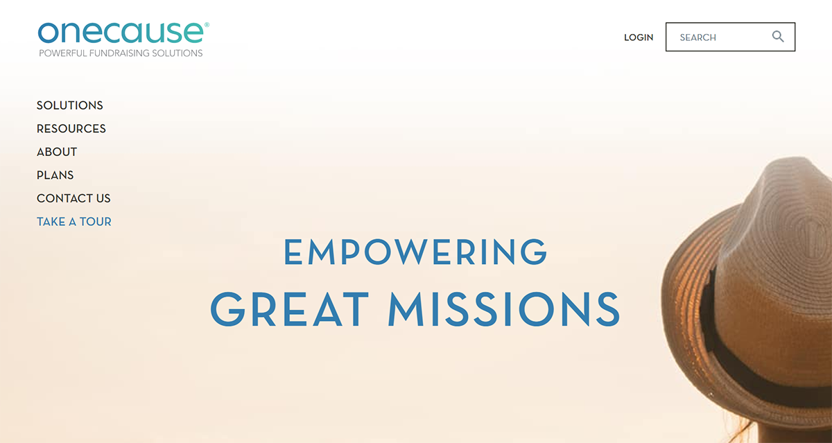 Learn more about OneCause, one of the top Blackbaud integrations.