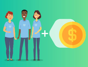 Learn the basics about volunteer grants with Double the Donation.